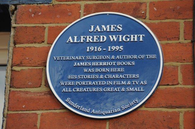 james herriot blue plaque